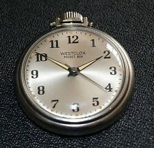 Westclox Pocket Ben Luminous Dial Pocket Watch