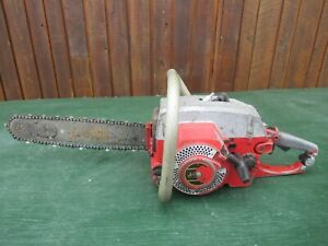 """Vintage JONSEREDS Chainsaw Chain Saw with 15"""" Bar"""