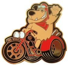 MUTTLEY TRIKER BIKER MOTORCYCLE TRIKE 3 WHEEL 3RD WHEEL ENAMEL PIN BADGE