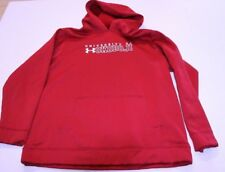 Youth University of Okoboji Xl Hoodie Hooded Sweatshirt (Maroon) Under Armour