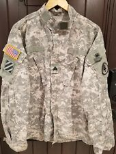US Military Army Digital Camo Fatigue Combat Jacket Coat NATO 7080/0414 Large