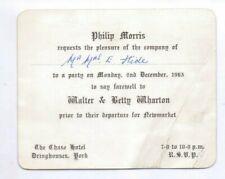 1963 Invitation Trainer Walter Wharton moves to Newmarket, ex Edward Hide