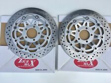 FRONT BRAKE DISCS  FOR KAWASAKI ZR1100 ZEPHYR 1992 TO 1997 TOURMAX MADE IN JAPAN