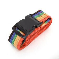 Adjustable Baggage Rainbow Belt Travelling Backpack Bag Luggage Suitcase Straps