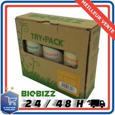 Engrais Try-pack indoor biobizz / engrais bio pour culture indoor