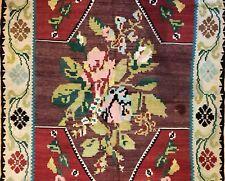 Beautiful Bessarabian - 1940s Antique Flatweave Kilim - Tribal Rug - 4.9 x 6.10