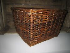 Wäschekorb Aufbewahrungskorb Dekokorb Shabby Korb braun 30x30  Höhe: ca. 20 cm