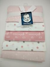 Gerber Baby 2-Pack Thermal Receiving Blanket Princess Arrival One Size