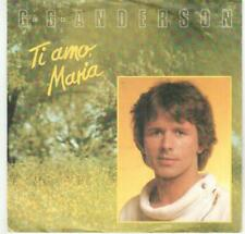 "<5746-49> 7"" Single: G. G. Anderson - Ti amo, Maria - Vinyl: near mint"