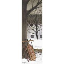 "Billy Jacobs Sled Farm  Print 6"" x 18"""