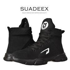 US Men Work Safety Shoes Steel Toe Cap Bulletproof Boots Indestructible Sneakers
