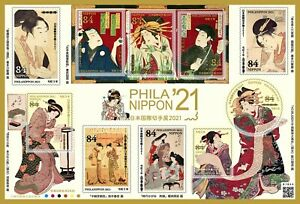 2021 JAPAN 21 PHILA Nippon 84y  sheet  Unused