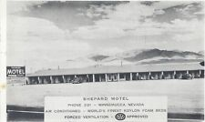 1955 postcard - Sheperd Motel, Winnemucca, Nevada