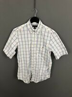 GANT OXFORD Short Sleeve Shirt - Size Small - Check - Great Condition - Men's