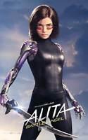 Y-229 Alita - Battle Angel Movie 2019 Robert Rodriguez Hot Fabric Poster 24x36