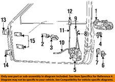 Dodge CHRYSLER OEM 94-02 Ram 3500-Outside Exterior Door Handle Right 55275022AB