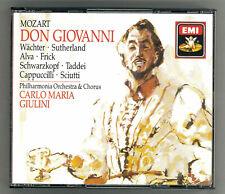 Mozart Don Giovanni. Giulini Philharmonia Orchestra - 3 CD