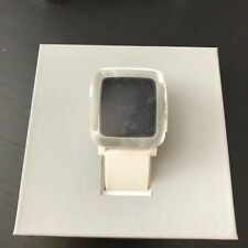 Pebble Time  Smartwatch for Apple/Android Devices (White) 30M
