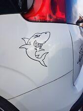 Shark Divertido Vinilo Coche Pared Calcomanía Adhesivo en 4 Colores