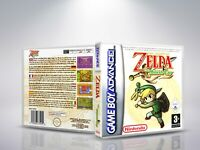 The Legend of Zelda: The Minish Cap GBA -Cover / case de remplacement (NO Game)