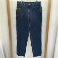 Riders Men's Relaxed Fit Denim Jeans Blue Size 36 X 34 Preowned