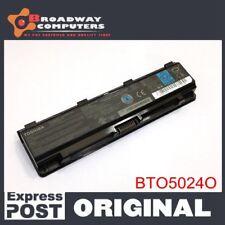 Original Battery For Toshiba Satellite C850 C850D L850 L850D Pro PA5024U-1BAS