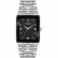 Bulova Quadra 30.5 mm Men's  Stainless Quartz Watch