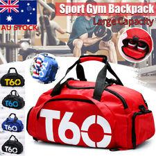 Men Large Sports Duffle Bag Shoulder Gym Travel Luggage Backpack Travel Handbag