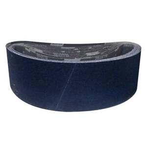 """Norton 78072727698 6x48"""" BlueFire R821P ZA Cloth Narrow Belts 36 Grit 10 pk"""