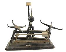 Antique Cast Iron & Brass Torsion Pharmaceutical Balance Scale Style 3015