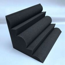 4 pcs Corner Bass Trap Acoustic Panel Studio Sound Absorption Foam 12*12*24 N9U3