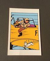 Carte postale Tintin n°037. HERGÉ. MOULINSART