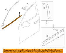 MAZDA OEM 13-15 CX-5-Door Window Sweep-Belt Molding Weatherstrip Left KD5350650D