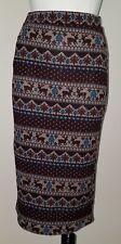 NWT Reindeer Skirt Iris Los Angeles Size Small Below-Knee Holiday Christmas SOFT