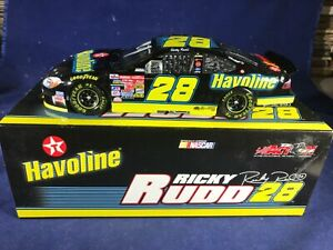2002 ACTION NASCAR Ricky Rudd #28 Havoline 2002 Taurus 1:24 LIMITED EDITION