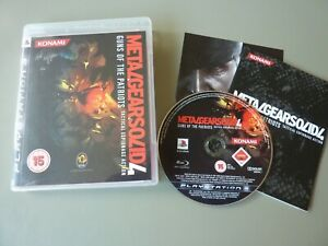 Metal Gear Solid 4: Guns of the Patriots (PS3), Playstation 3 : Pristine