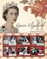 Gambia 2012 - Queen Elizabeth II Sheet of 6 Stamps  MNH