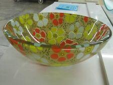 New listing Glass Vessel - Flowers