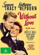 Without Love (1945) * NEW DVD * Spencer Tracy Katharine Hepburn Lucille Ball