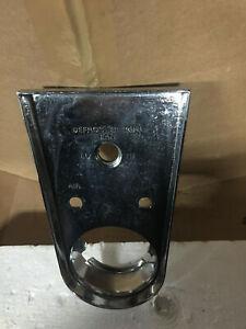 1958-62 CORVETTE HEAT/CLOCK/DEF CONSOLE PLATE P/N 3740281 Original