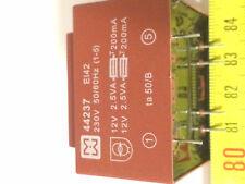 MYRRA 44237 TRANSTORMATEUR 2X12V  2X0.209A  5VA  LOT DE 2 TRANSFO
