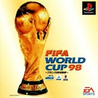 USED PS1 PS PlayStation 1 FIFA WORLDCUP98 France 98 recap 04925 JAPAN IMPORT