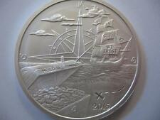 1-Oz.Pure.999 2015 Detailed Silver Island Pirate Ship Silver Is Money + Gold