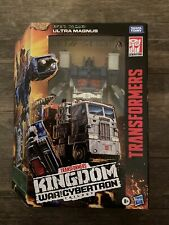 HASBRO KINGDOM * ULTRA MAGNUS * TRANSFORMERS WAR FOR CYBERTRON TRILOGY!