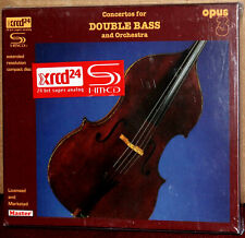 XRCD MSXCD-99304: THORVALD FREDIN - Concertos for Double Bass, 2010 JAPAN OOP SS