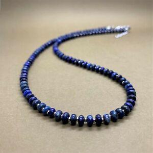 Minimalist Lapis Lazuli Beads Choker Necklace for Women