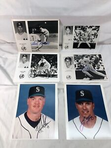 New York Yankees 1996 Signed Autographed Pictures! Derek Jeter Andy Pettite