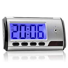 Secret Video DVR Digital Alarm Clock spy Nanny Camera Recorder Motion Detector N
