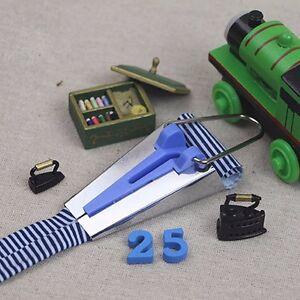 4 Size/set Fabric Bias Tape Maker Folder DIY Sewing Quilting Binding Tool #N02