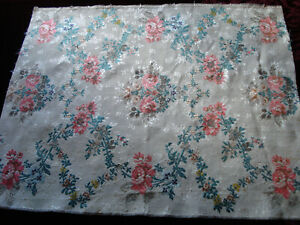 antique silk  brocade from 18 th c robe